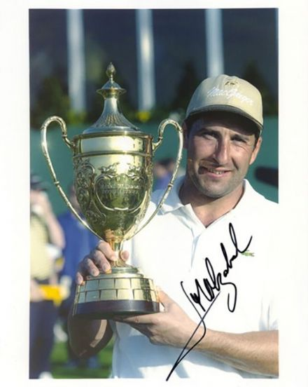 Jose Maria Olazabal, signed 10x8 inch photo.